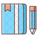 Diary Notebook Notes Icon