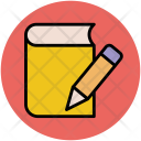 Diary Notebook Pencil Icon