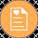 Diary Diary Of Love Heart On Diary Icon
