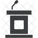 Dias Rostrum Podium Icon