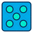 Gambling Dice Cube Game Dice Icon
