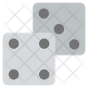 Dice Block Cubes Icon