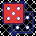 Dice Gambling Casino Icon