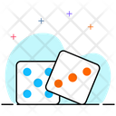 Dice Casino Game Cube Icon