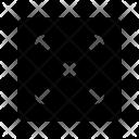 Dice Count Five Icon