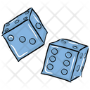 Dice Casino Gambling Icon