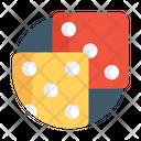 Dice Gambling Luck Game Icon