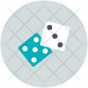 Dice Casino Cube Icon