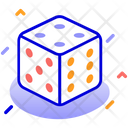 Dice Game Sports Icon