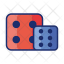 Dice Cube Game Icon