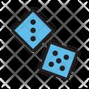 Casino Dice Game Icon