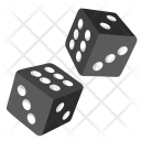 Dice Roll Gamble Icon