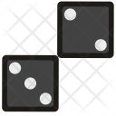 Dice Gamble Game Icon