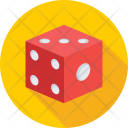 Dice Cube Gambling Icon