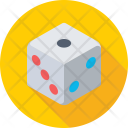 Dice Gambling Luck Icon