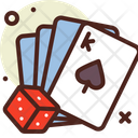 Dice Card Play Poker Icon
