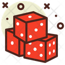 Dice Casino Game Icon