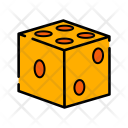 Dice Shuffle Play Icon