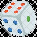 Dice Gambling Game Icon