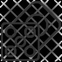 Dice Puzzle Childhood Icon