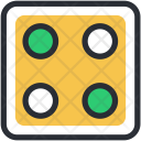 Dice Cube Gambling Icon