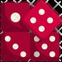 Dice Domino Piece Icon