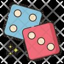 Dice Cube Game Icon