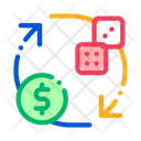 Dice Gambling Icon