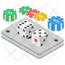 Dice Game Gambling Luck Game Icon