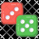 Dice Game Gambling Luck Game Icon