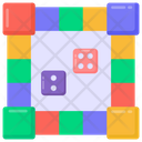 Dice Game Dice Board Indoor Game Icon