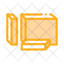 Diced Butter Margarine Icon