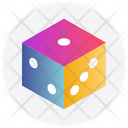 Cubes Dices Gambling Icon