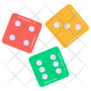 Roll Dices Gambling Dices Dices Icon