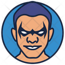 Dick Grayson Villain Warrior Icon
