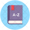 Dictionary Wordbook Vocabulary Icon