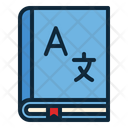 Dictionary School Supplies Encyclopedia Icon