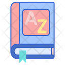 Dictionary Book Vocabulary Icon