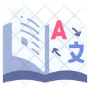 Dictionary Book Education Icon
