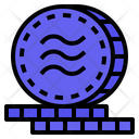 Diem Libracoin Digital Money Icon