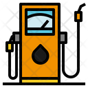 Diesel Fuel Gas Pump Icon