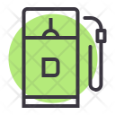 Diesel Filling Fuel Icon