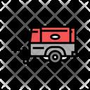 Diesel Compressor Machine Icon