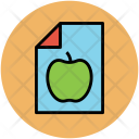 Diet Chart Plan Icon