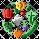 Fresh Organic Tomato Icon