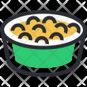 Diet Dinner Food Icon