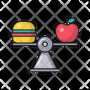 Burger Fastfood Apple Icon