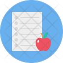 Diet Chart Report Icon
