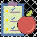 Diet Chart Icon