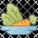 Clean Food Diet Diet Food Icon